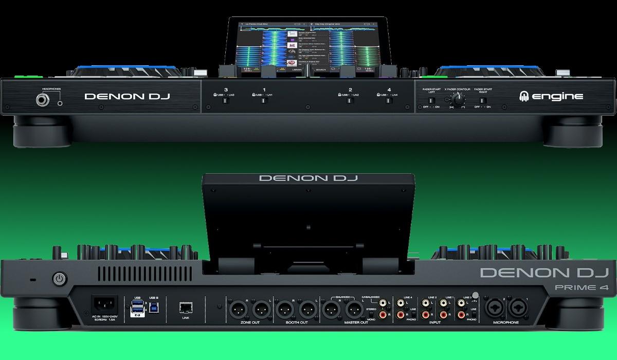 Denon DJ Releases Prime 4: The First 4 channel Standalone DJ