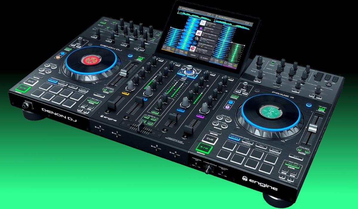 Denon DJ Releases Prime 4: The First 4 channel Standalone ...