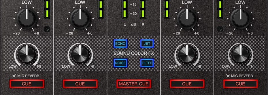 Pioneer DJ DDJ-SX3 sound color effects