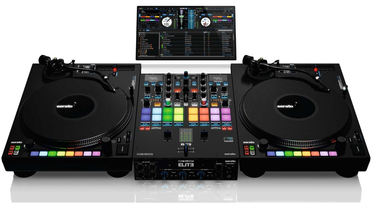 Reloop Launches ELITE, 2 Channel Performance Mixer For Serato DJ Pro