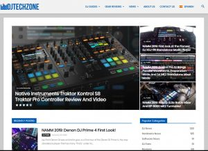 Djtechzone screenshot 2019