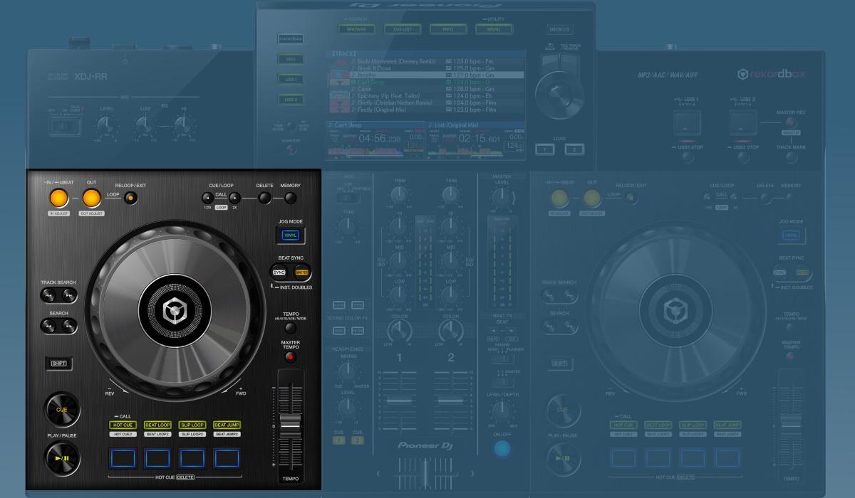 Pioneer DJ XDJ-RR decks