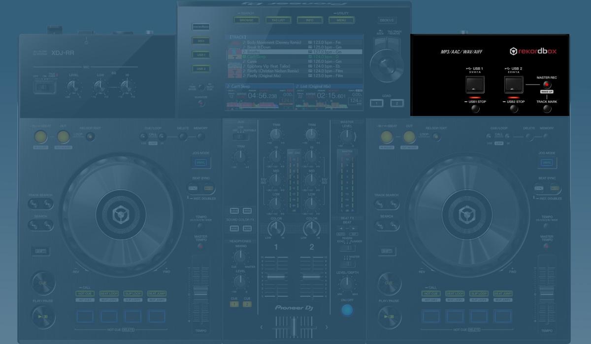 Pioneer DJ XDJ-RR media support