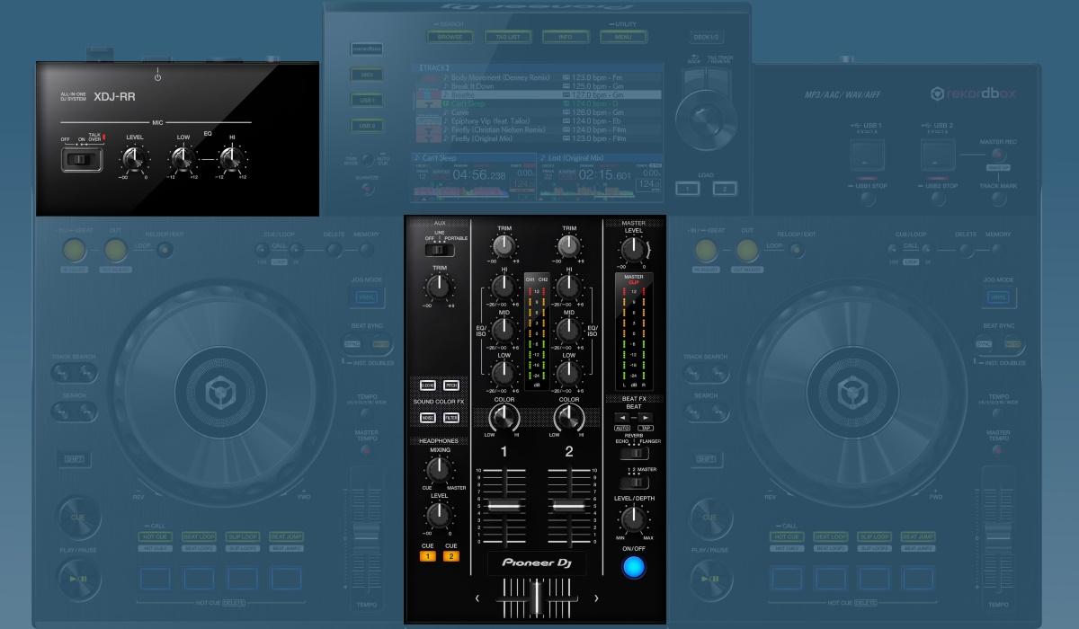 Pioneer DJ XDJ-RR mixer