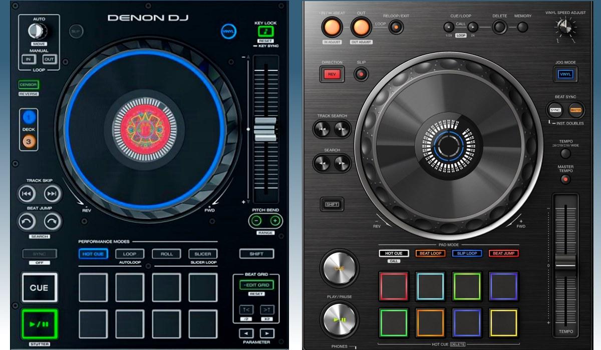 Prime 4 versus XDJ-RX2: the decks compared