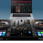 Pioneer DJ DDJ-800 con MacBook