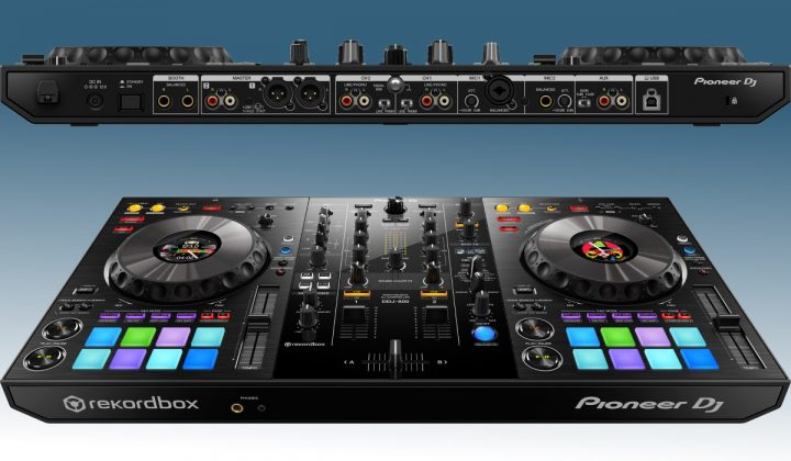 Pioneer DJ DDJ-800 inputs and outputs