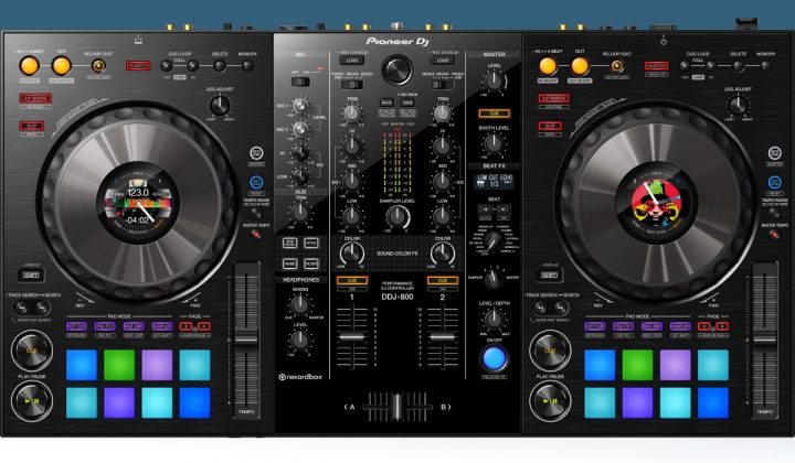 Pioneer DJ DDJ-800 top view