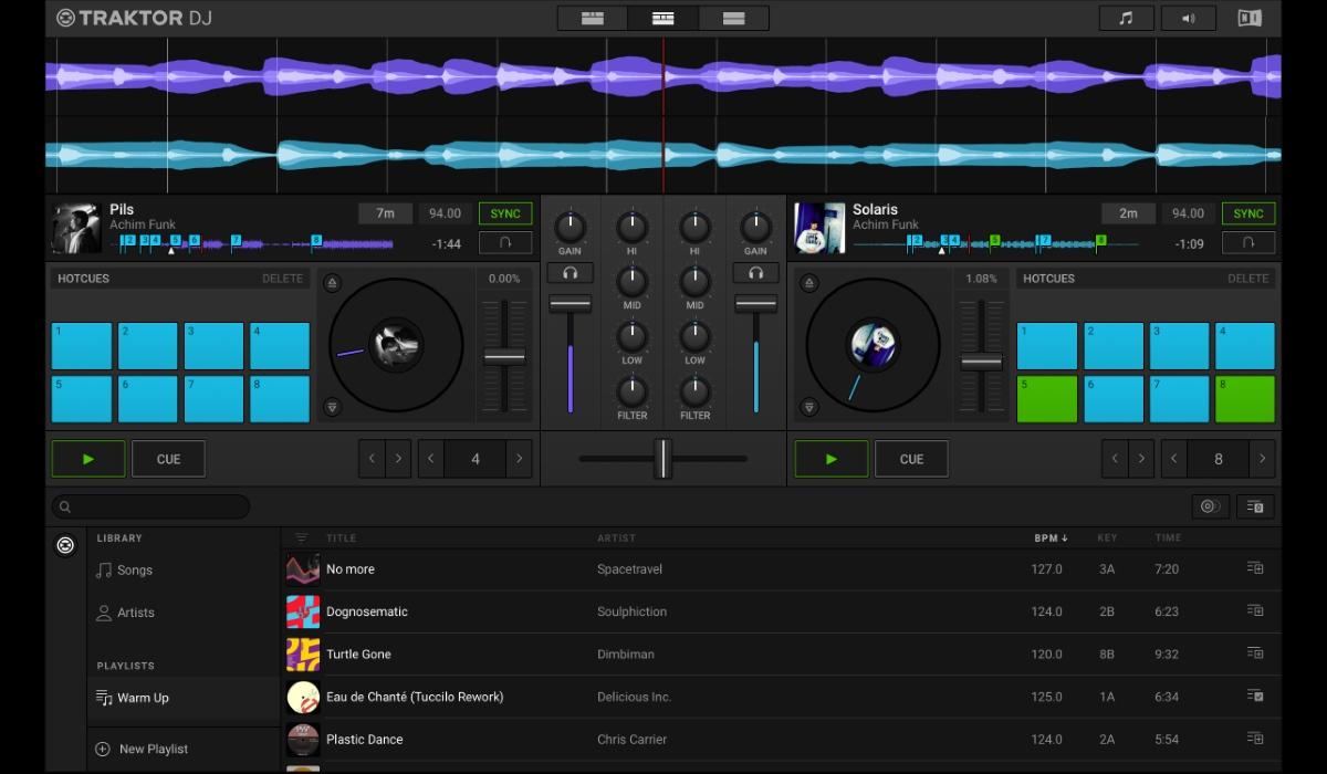 Traktor DJ 2 desktop version