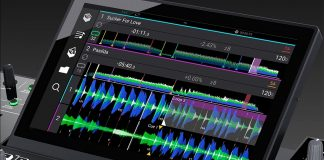 Denon DJ Prime 4 horizontal wave forms