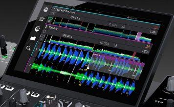 Denon DJ Prime 4 wave form horizontal