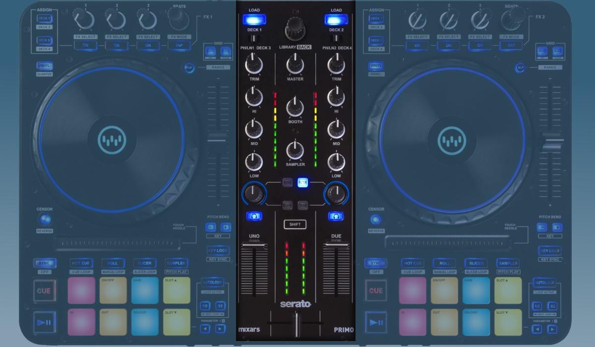 Mixars Primo - the mixer