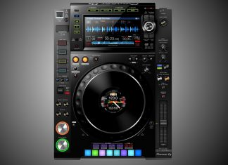 Pioneer DJ CDJ-2000NXS3 mock up