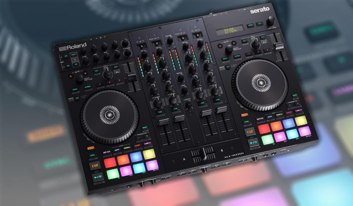 Roland Launches DJ-707M Serato DJ Pro Controller For Mobile DJ's