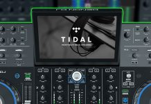 Denon DJ Prime 4 with Tidal streaming