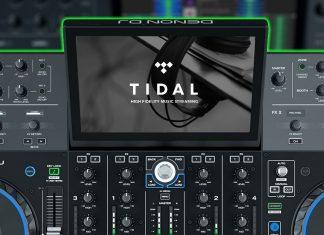 Denon DJ Prime 4 with Tidal streaming