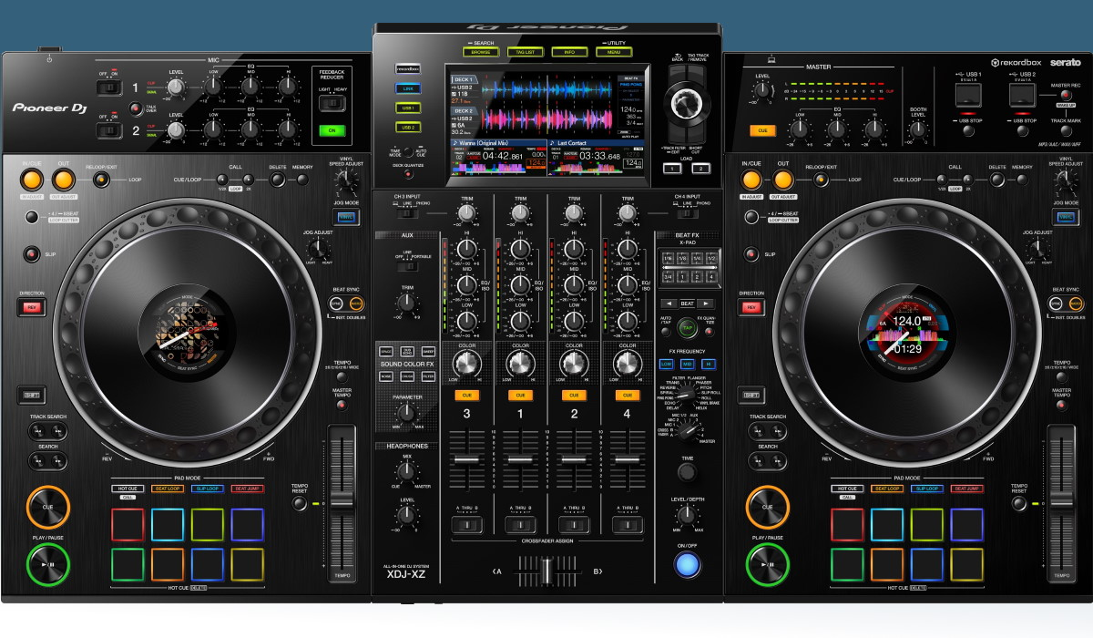 TYPES OF DJ CONTROLLERS