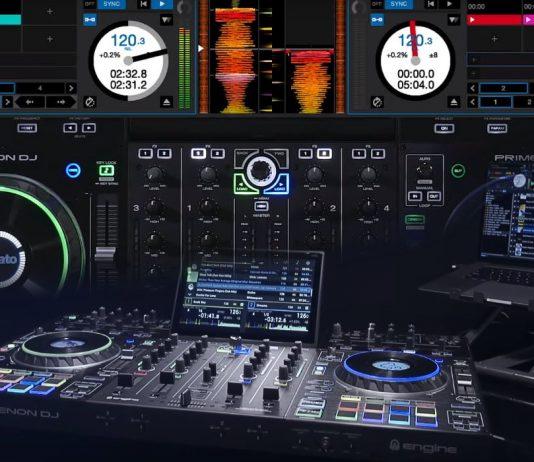 Seratp DJ Pro 2.3.1 with Denon DJ Prime 4 and SC5000M support