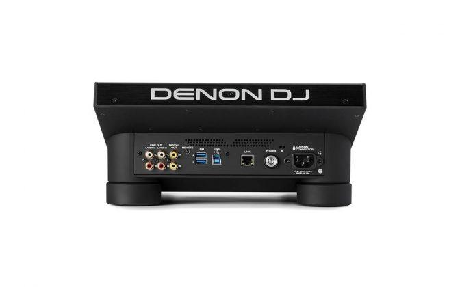 Denon DJ SC6000 back