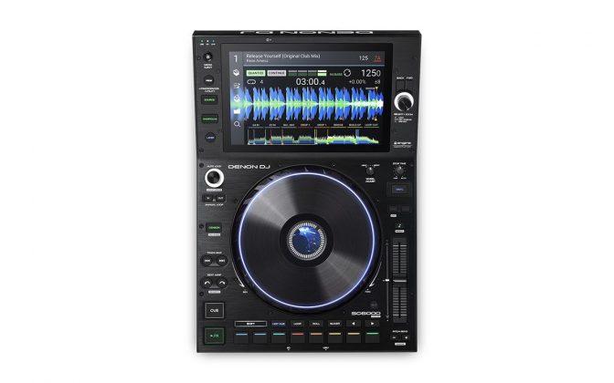 Denon DJ SC6000 top view