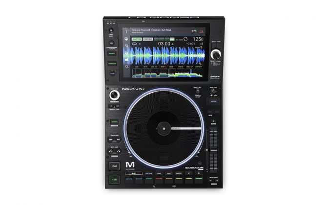 Denon DJ SC6000M top view