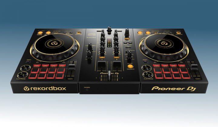 Pioneer DJ DDJ-400-N front view