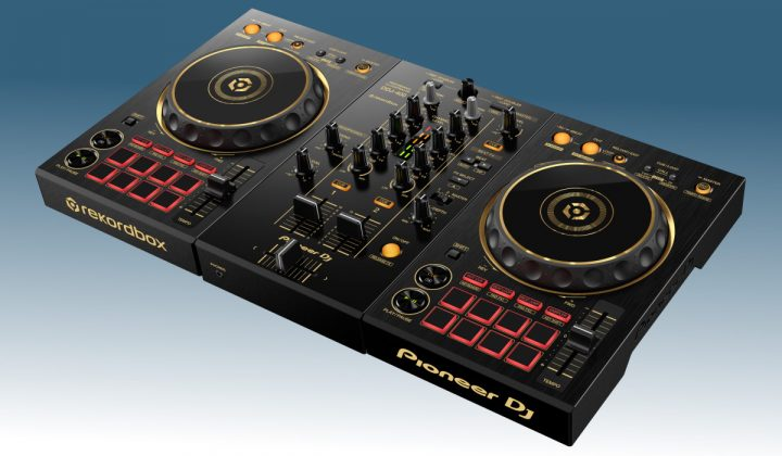 Pioneer DJ DDJ-400-N side view