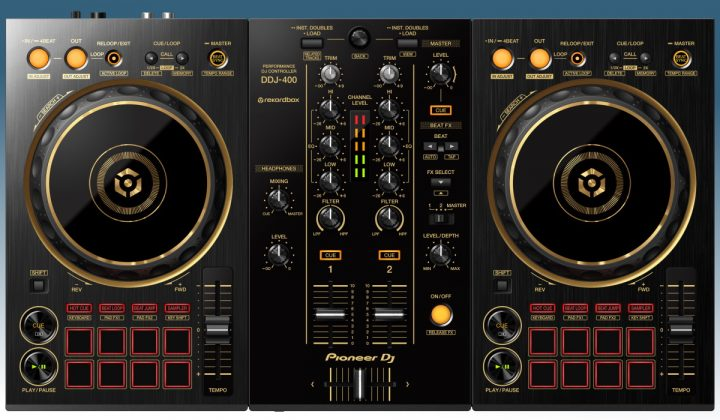 Pioneer DJ DDJ-400-N top view