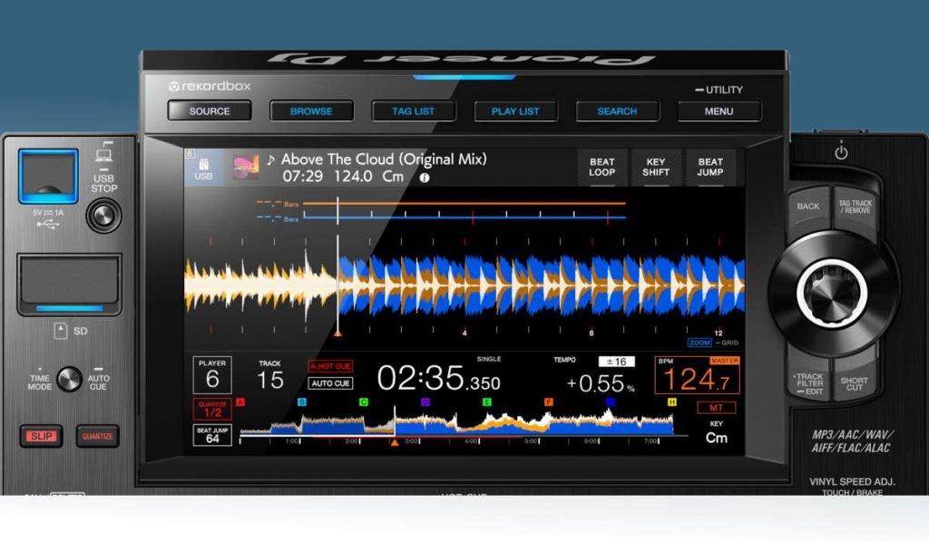 Pioneer DJ CDJ-3000 screen