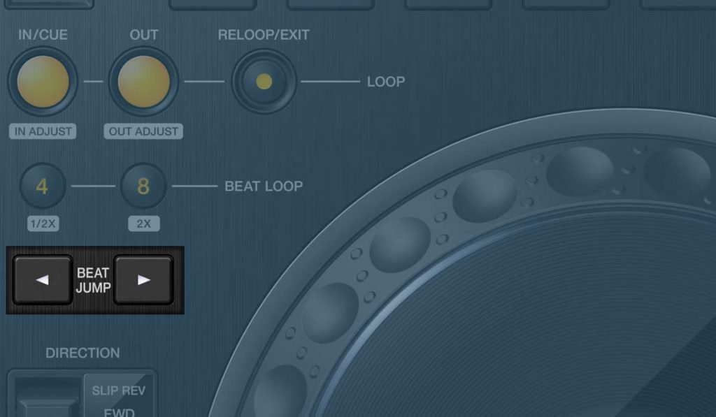 pioneer-dj-cdj-3000-beat-jump-buttons