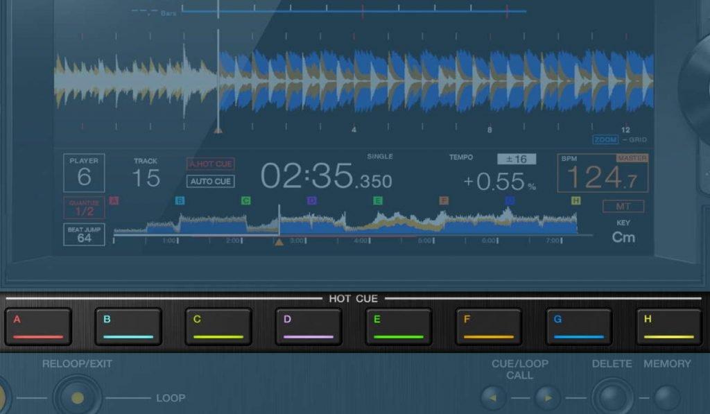 pioneer-dj-cdj-3000-hot-cues