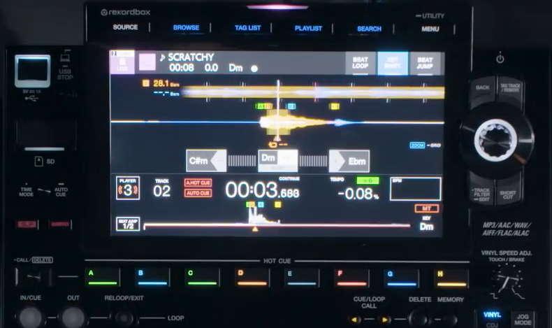 pioneer-dj-cdj-3000-key-shift-feature