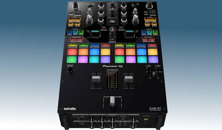 pioneer-dj-djm-s7-front-angle-view