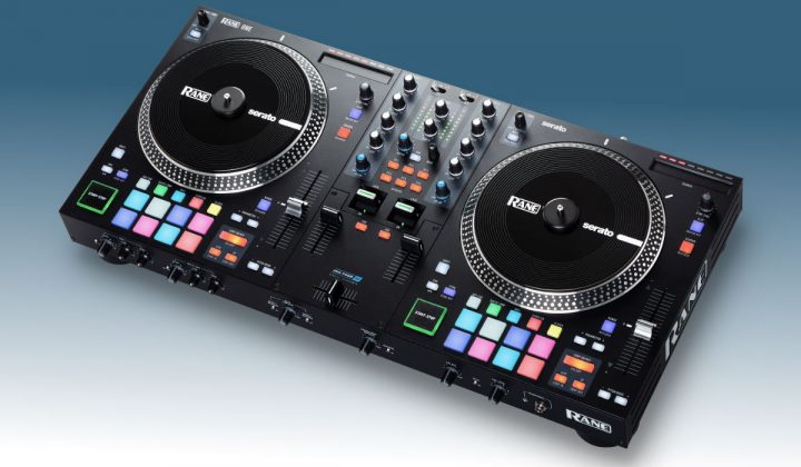 Rane One top side view