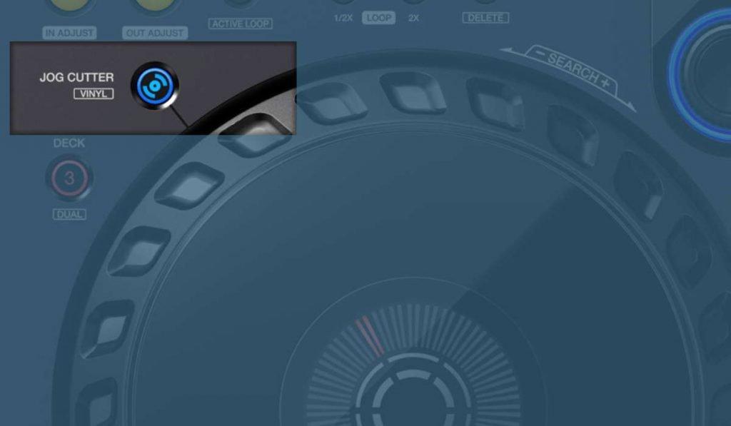 Pioneer DJ DDJ-FLX6 jog cutter feature