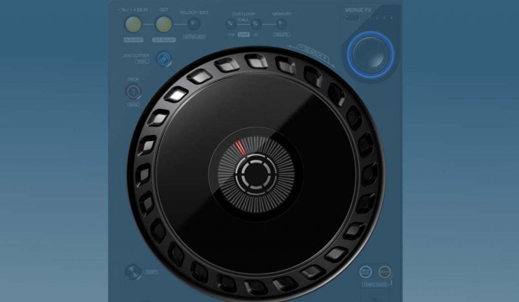 Pioneer DJ DDJ-FLX6 jog wheels