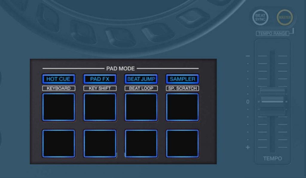 Pioneer DJ DDJ-FLX6 performance pads