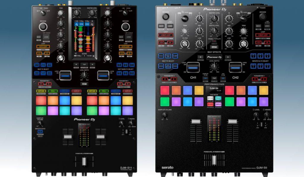 Pioneer DJ DJM-S9 versus DJM-S11