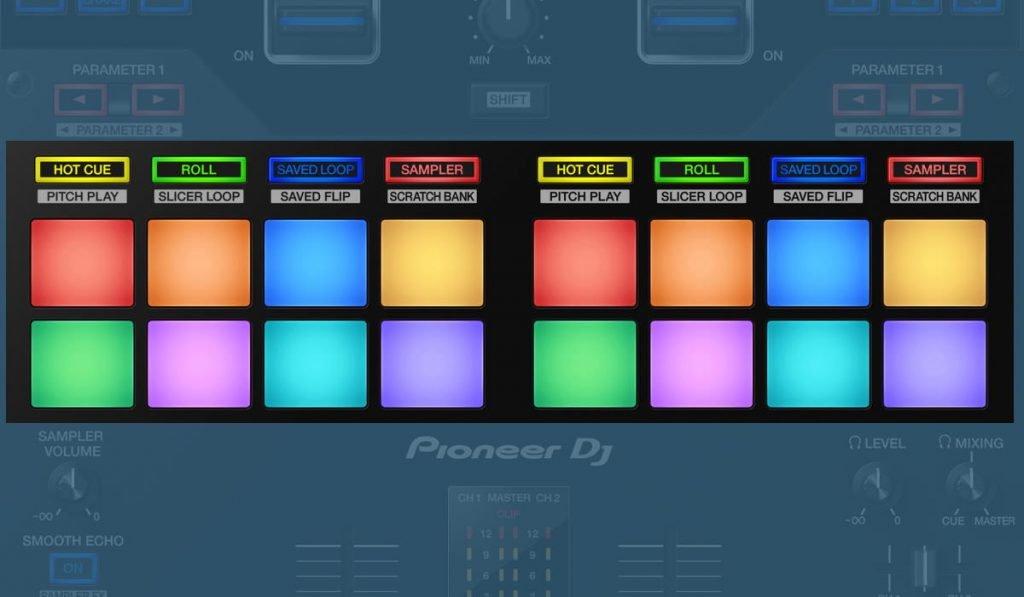 Pioneer DJ DJM-S11 performance pads