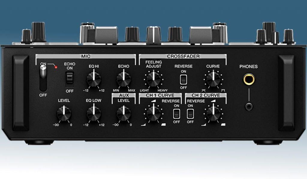 Pioneer DJM-S11 front panel