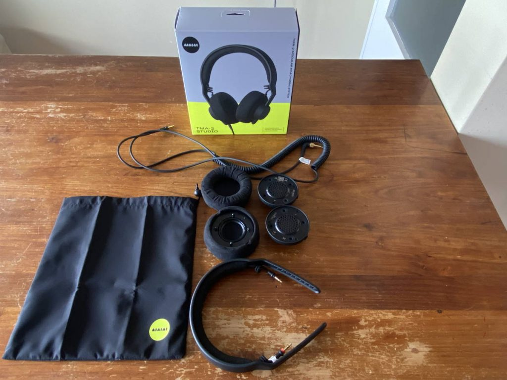 Assembling the AIAIAI TMA-2 Studio Headphones